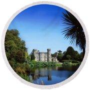 Johnstown Castle, Co Wexford, Ireland Round Beach Towel