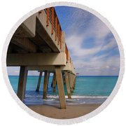 4- Juno Pier Round Beach Towel