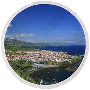 Maia - Azores Islands Round Beach Towel
