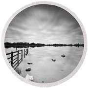 Penyfan Pond Round Beach Towel