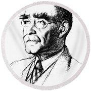 Rudyard Kipling (1865-1936) Round Beach Towel