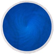 The Colors Of Adriatic Sea Round Beach Towel