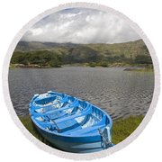 Upper Lake, Killarney National Park Round Beach Towel