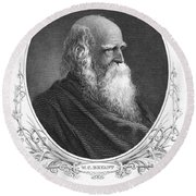 William Cullen Bryant Round Beach Towel