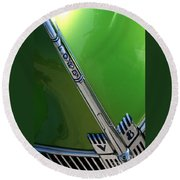 40 Ford - Grill Detail-8610 Round Beach Towel