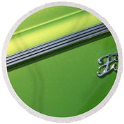 40 Ford - Logo-8589 Round Beach Towel