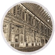 Leadenhall Market London Round Beach Towel