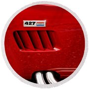427 Ford Cobra Round Beach Towel