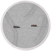 48- Shipwrecked Round Beach Towel