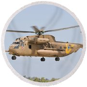 A Sikorsky Ch-53 Yasur Of The Israeli Round Beach Towel