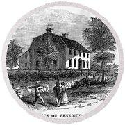 Benedict Arnold (1741-1801) Round Beach Towel