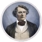 Charles Sumner (1811-1874) Round Beach Towel