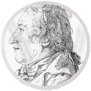 Claude-louis Berthollet, French Chemist Round Beach Towel