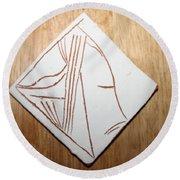 Dreams - Tile Round Beach Towel