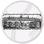 Gustavus II (1594-1632) Round Beach Towel
