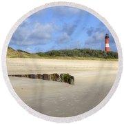 Hoernum - Sylt Round Beach Towel