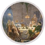 James Watt (1736-1819) Round Beach Towel