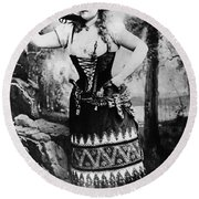 Lillian Russell (1861-1922) Round Beach Towel