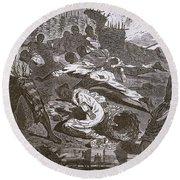 Siege Of Vicksburg, 1863 Round Beach Towel