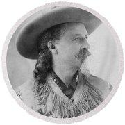 William F. Cody (1846-1917) Round Beach Towel