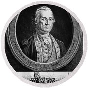 George Washington Round Beach Towel