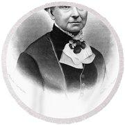 Amelia Bloomer (1818-1894) Round Beach Towel