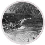 Andrew Jackson (1767-1845) Round Beach Towel