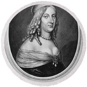 Christina (1626-1689) Round Beach Towel