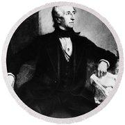 John Tyler (1790-1862) Round Beach Towel