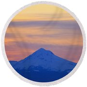Oregon, United States Of America Round Beach Towel