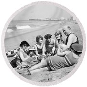 Silent Still: Bathers Round Beach Towel