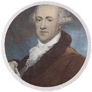 William Herschel, German-british Round Beach Towel
