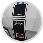 69 Dart Swinger Round Beach Towel