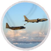A Mc-130h Combat Talon II Round Beach Towel