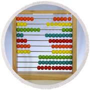 Abacus Round Beach Towel