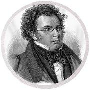 Franz Schubert (1797-1828) Round Beach Towel