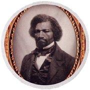 Frederick Douglass African-american Round Beach Towel