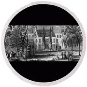 James Buchanan (1791-1968) Round Beach Towel