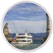 Lindau Round Beach Towel