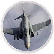 Luftwaffe F-4f Phantom II Round Beach Towel
