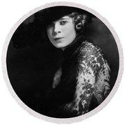 Mae West (1892-1980) Round Beach Towel