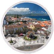 Ribeira Grande - Azores Round Beach Towel