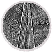 The Shard Round Beach Towel