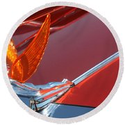 75 Caddy Emblem 7848 Round Beach Towel