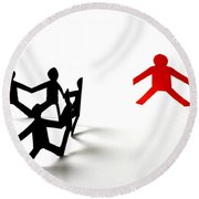 Conceptual Situation Round Beach Towel