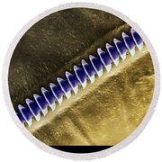 Cricket Sound Comb, Sem Round Beach Towel