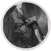 John Hancock (1737-1793) Round Beach Towel