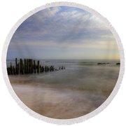 Sylt Round Beach Towel by Joana Kruse
