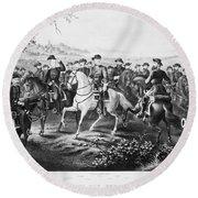 Robert E. Lee (1807-1870) Round Beach Towel