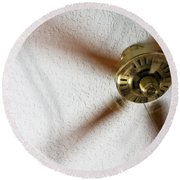 A Cooling Breeze Round Beach Towel